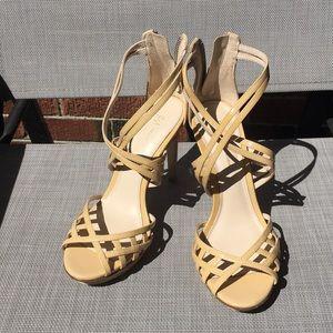 NWOT Summer Strappy Heels 🌼🌻